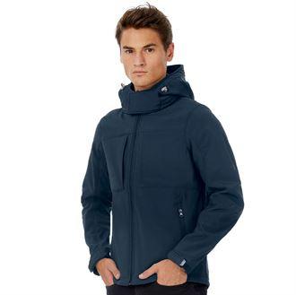 Herren Softshell Hooded Jacke 8522 BA630