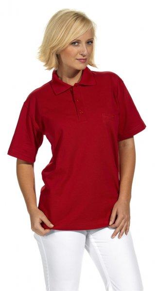 Polo Shirt kurzarm Unisex mit Brusttasche 60 Grad Wäsche