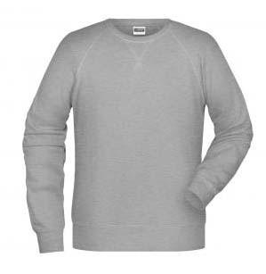 Klassisches Herren BIO Sweatshirt mit Raglanärmeln