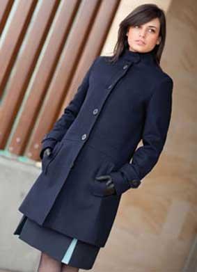 Damen Mantel AIRLINE