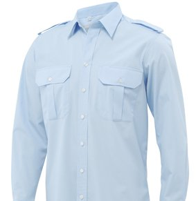 Pilothemd HOWARD langarm Slim fit 72