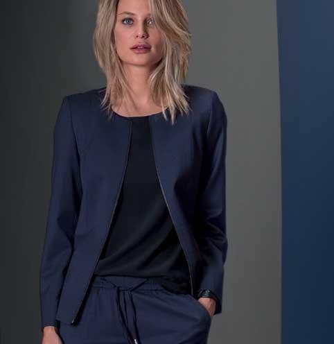 Damen-Blazer mit Zip Regular Fit MODERN 37.5