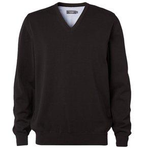 Herren Pullover V-Ausschnitt 100% Baumwolle 83111