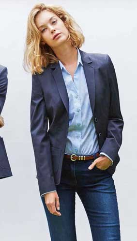 Damen Chino-Blazer casual regular fit