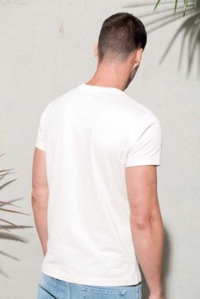 Herren T-Shirt mit Rundhalsausschnitt BIO-Baumwolle
