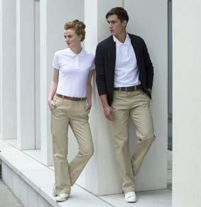 Damen Chino Trouser Baumwolle mit Teflon HB602