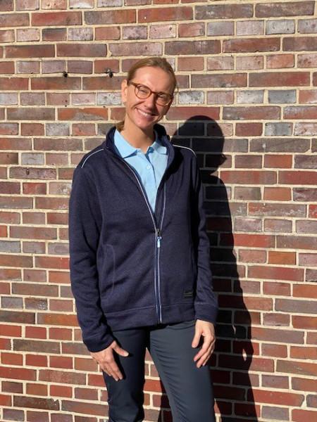 Damen Soft knitted Workwear Jacke für Aufsicht und Empfang