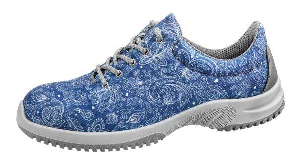 Sneaker Damen Berufsschuh SRC Paisley und Blumenmuster
