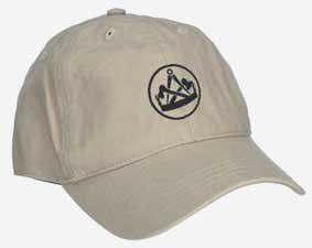 Cap beige mit Zunftzeichen Tischler