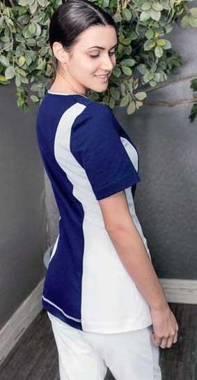 Damen Wellness-Shirt Tunika 1/4 Arm bi-color Natura®
